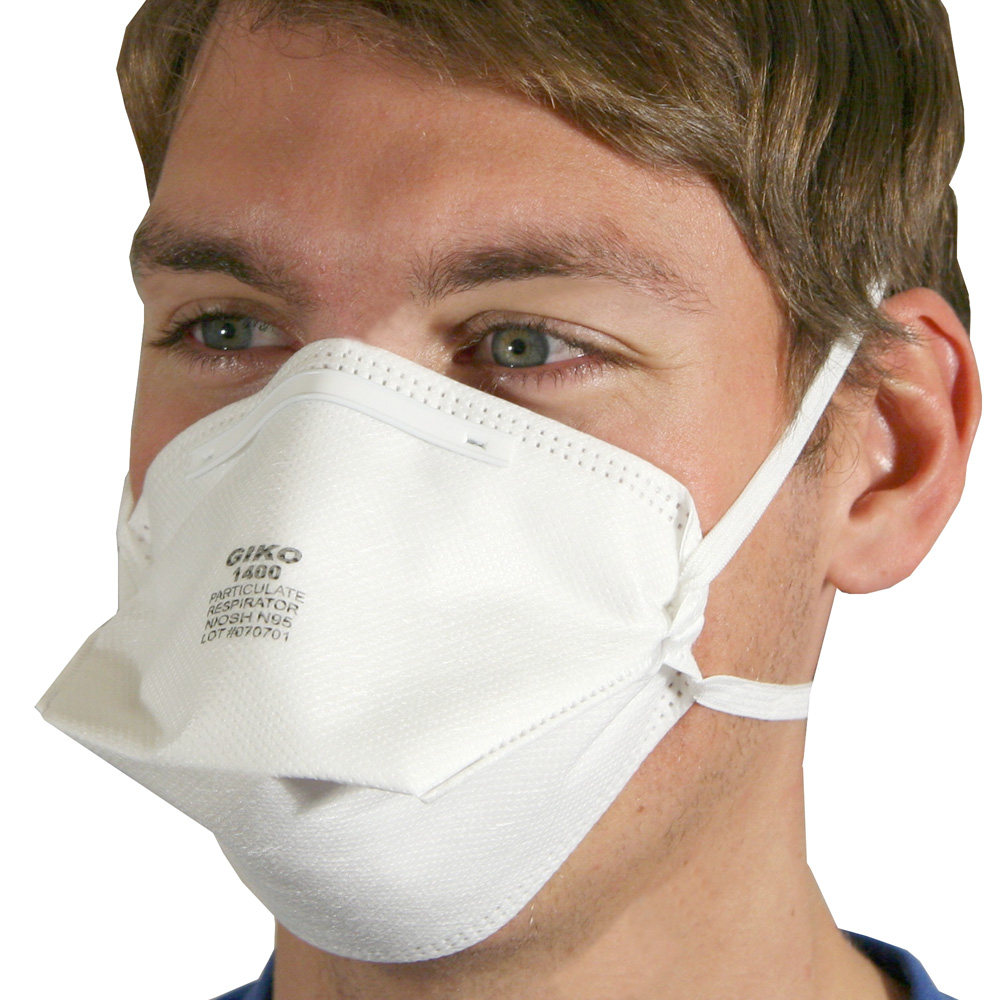 N95 20 Mask Disposable Pack - Of Niosh Folded