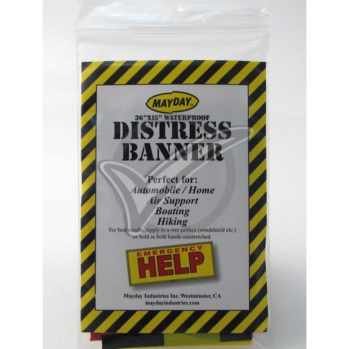 Distress Banner - 15 in. x 36 in.