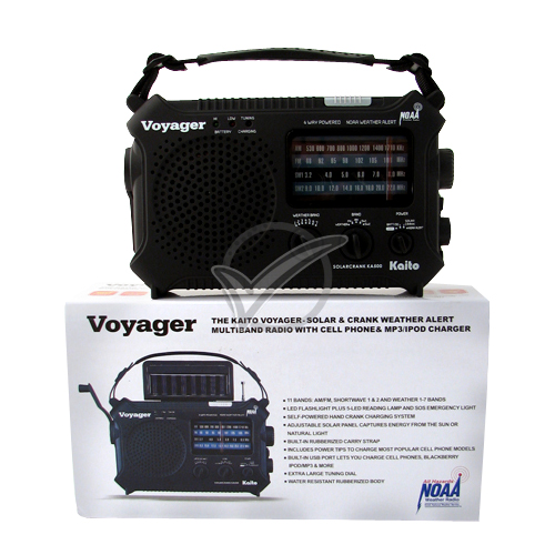 The Voyager AM/FM Solar Dynamo Radio
