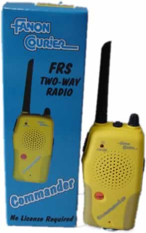 Two Way Radio With Digital Read Out- Each