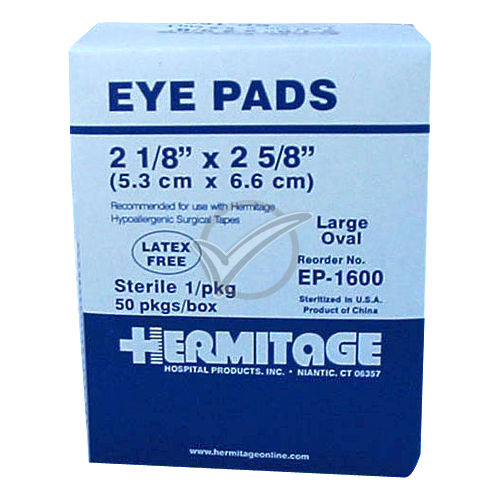 Eye Pads (Sterile) - 50 Count
