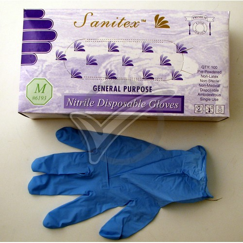 Nitrile Gloves – Large 100 count
