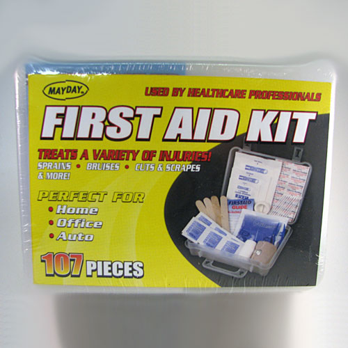 Mayday 107 Piece First Aid Kit