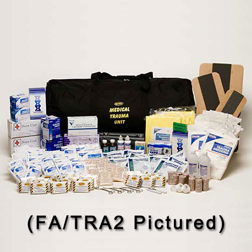 First Aid Trauma Kit - 50 Person (1 Lg. Duffel Bag)