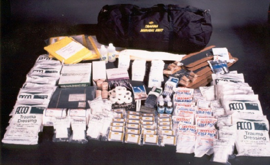 First Aid Trauma Kit - 100 Person