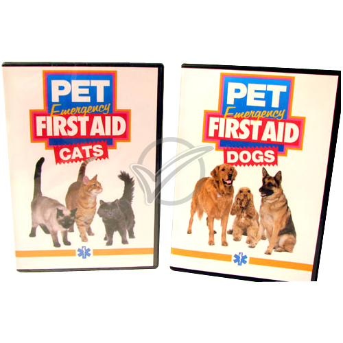 Pet Emergency First Aid Dvd - Dogs
