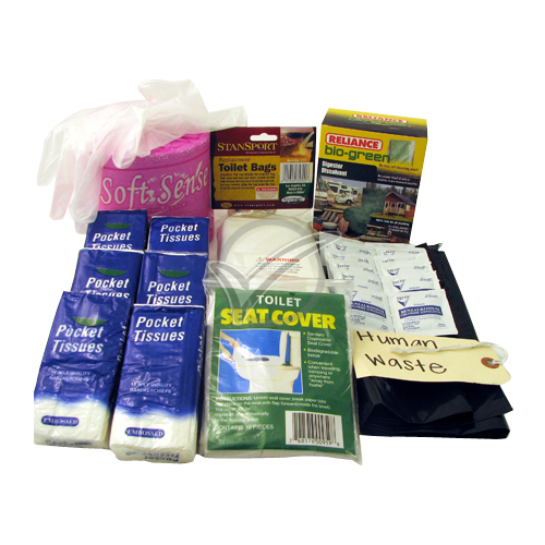 55 Piece Personal Toilet Hygiene Kit