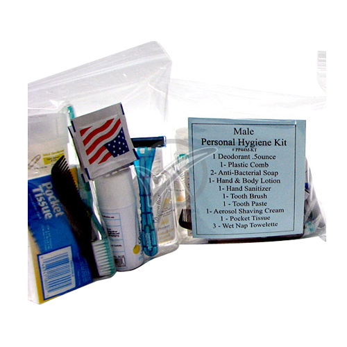 13 Piece Male Personal Hygiene Kit