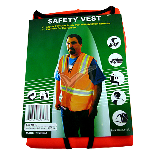 Safety Jacket (Orange) L - XL