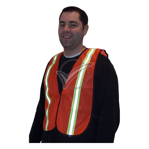 Safety Vest-Nylon with High Reflective Tape