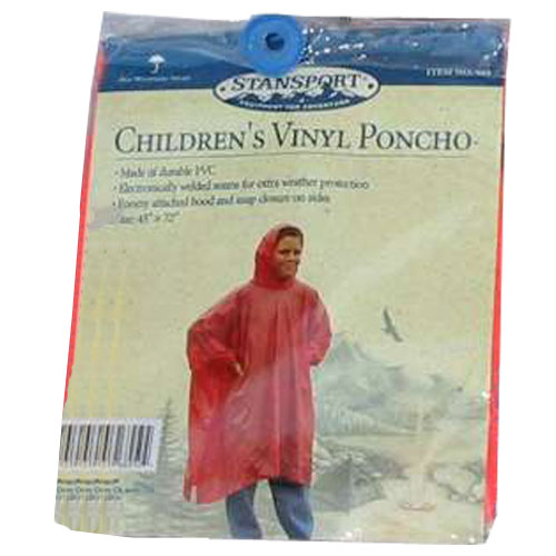Emergency Poncho - Children's Heavy Duty