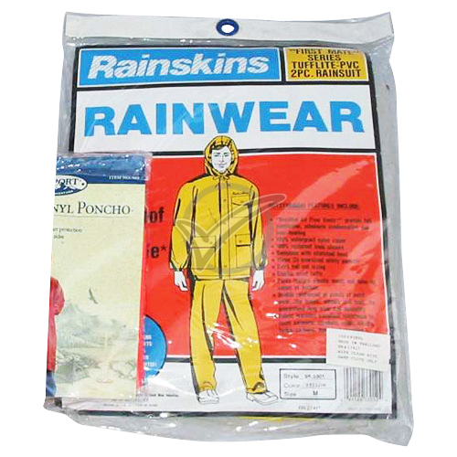2 Piece Rain Suite - Heavy Duty PVC