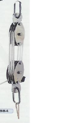 Steel Pulley Hoist 2000 Lbs.