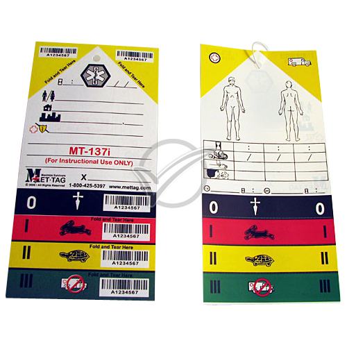 Triage Tag pack of 50