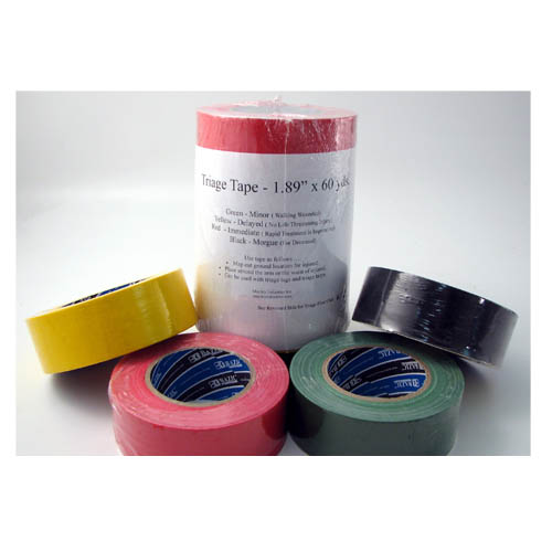 Set of four Adhesive Triage Tape 60 yards