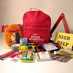 Auto Emergency Kit / Economy Road Warrior (16 Piece)