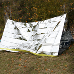 Emergency Reflective Tent-clamshell