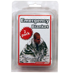 Emergency Blanket 2 Pack-clamshell