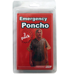 Adult Poncho 2 Pack-clamshell