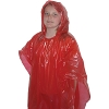Children's Emergency Poncho - Red