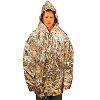 Reflective Poncho-clamshell
