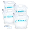 Four 4L Water Pouches with 20 Aquatabs (2 strips of 10)