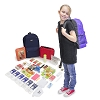 Keep-Me-Safe Children's Survival Kit - Navy Backpack