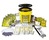 Deluxe 72 Hour Emergency Kit in a Honey Bucket - for 4 People