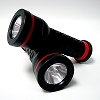 Zeon Heavy Duty Rubber Flashlight