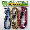 Bungie Cord 3 Pack - 12', 18' And 24'
