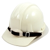 Hard Hat- White - 4 Point W/ Rachet