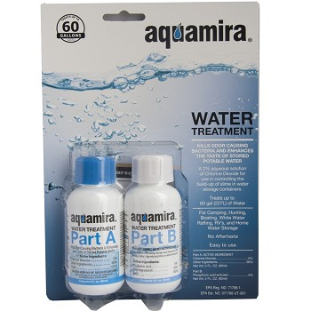 AquaMira Water Treatment 60 Gallon