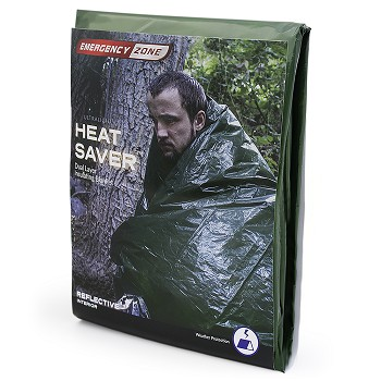 Heat Saver Dual Layer Insulating Blanket