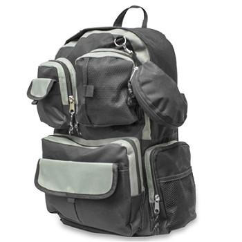 Urban Discrete Black Backpack