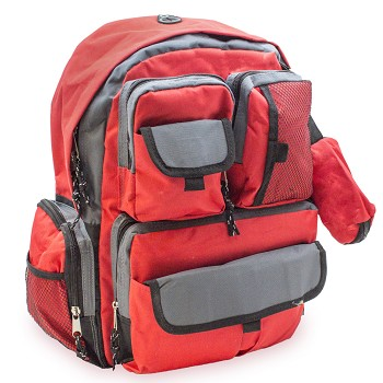 Emergency Backpack Red