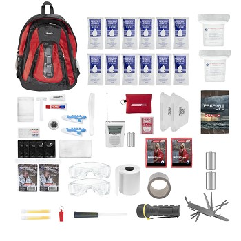 Essentials Complete Kit 2 Person (Red)