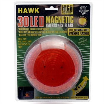 Warning Light - 30 Led - Magnetic Base