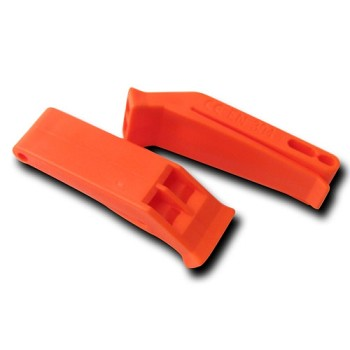 Orange Plastic Floating Whistle