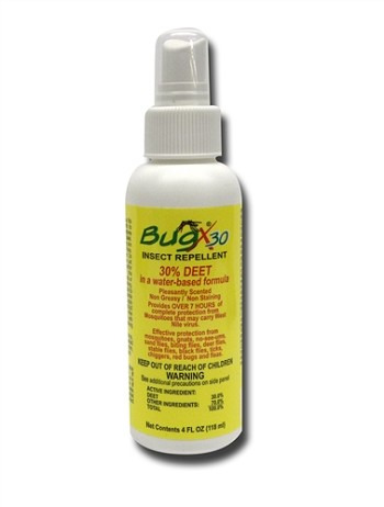 Insect Repellent Spray Bottle - 4 Oz