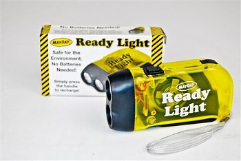 Mayday Readylight Hand Squeeze Flashlight- Case Of 200