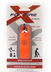 Orange Glow Safety Arm Band
