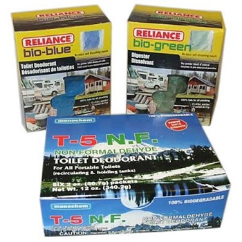 Bio-GreenToilet Chemicals - 12 Pack Wast Mgmt