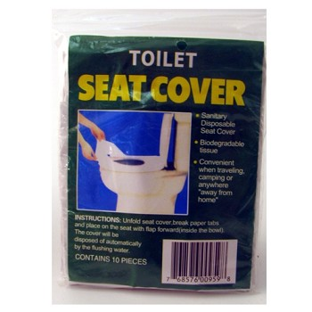 Disposable Toilet Seat Covers 10 Pack