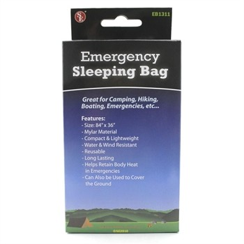 Emergency Sleeping Bag - Mylar