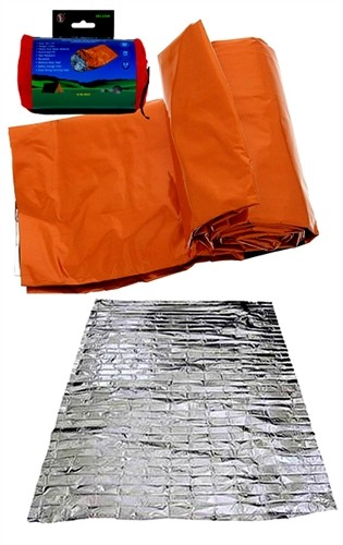84' X 36 ' Heavy Duty Orange Emergency Sleeping Bag