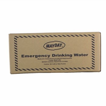 Pouch Water - 4.225  oz. - 100 Case