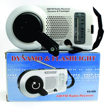 Dynamo Am / Fm Radio With Light