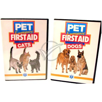 Pet Emergency First Aid Dvd - Cats