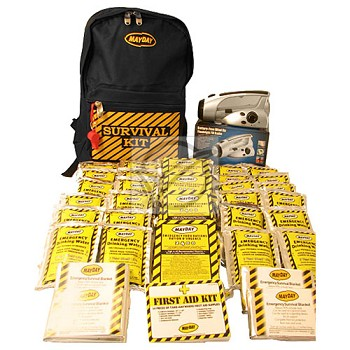 Economy Emergency Kit - 4 Person Backpack