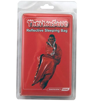 ThermaSave Sleeping Bag-clamshell